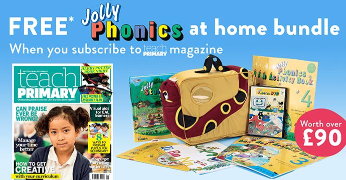 FREE* Jolly Phonics at home bundle